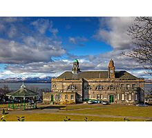Town Hall and Bandstand Photographic Print