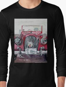 Morgan Red Car Long Sleeve T-Shirt