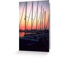 Early Morning Sail Greeting Card