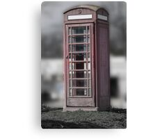 Crown Phonebooth (edited) Canvas Print