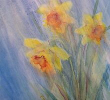 April Showers II by Patricia Henderson