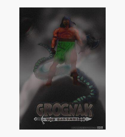 Grognak the Barabarian Skyrim parody Photographic Print
