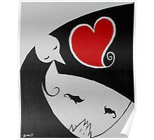 Heart Girl Birdy Poster