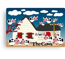 The Cows Canvas Print