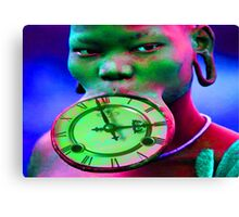 The illusion of Time Canvas Print
