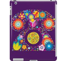 Abstract floral phone iPad Case/Skin