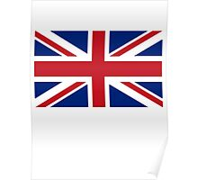 Flag of the United Kingdom, Union Jack, Britain, British flag, Pure & Simple Poster