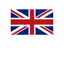 Flag of the United Kingdom, Union Jack, Britain, British flag, Pure & Simple Photographic Print