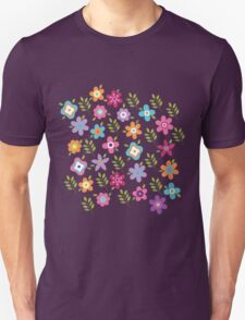 Scattering of cute flowers T-Shirt