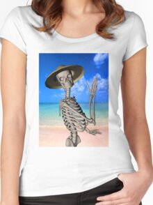 Looking forward to the Summer Women's Fitted Scoop T-Shirt