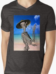 Looking forward to the Summer Mens V-Neck T-Shirt