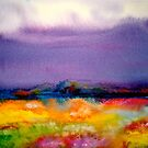 Landscape Abstract...Summer Rain by  Janis Zroback