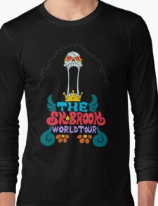 BROOK WORLD TOUR - Poster Long Sleeve T-Shirt