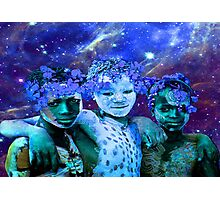 African Star Brothers Photographic Print