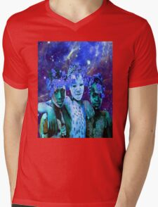 African Star Brothers Mens V-Neck T-Shirt