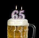 65th Birthday Beer by Maria Dryfhout