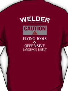Welder Safety T-Shirt