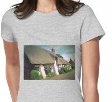 Village Cottages Womens Fitted T-Shirt