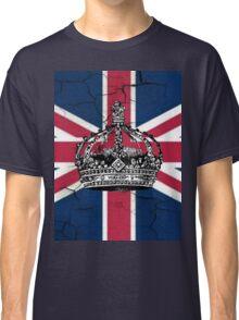 British union jack flag jubilee vintage crown  Classic T-Shirt