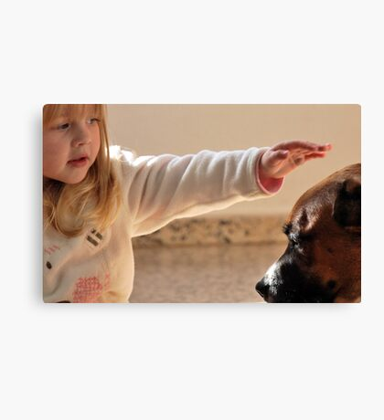 Touch. Canvas Print