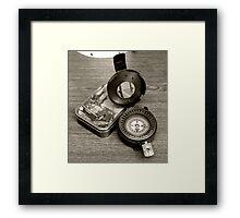 T.G MKIII Compass Framed Print