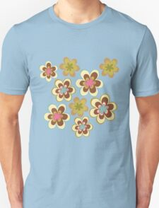 Painted yellow flowers T-Shirt