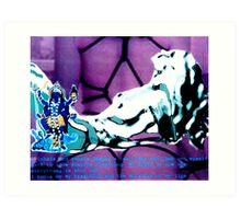 i inhale Art Print