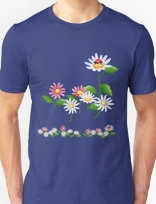 Jolly daisies with little ladybug T-Shirt