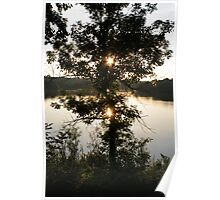 Sunset over the Englewood Reserve, Englewood, OH, 2005 Poster
