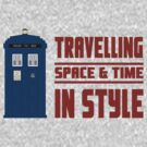 Travelling Space and Time in Style by Iain Maynard