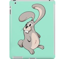 Funny cartoon rabbit iPad Case/Skin