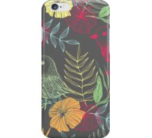 exotic bird pattern iPhone Case/Skin