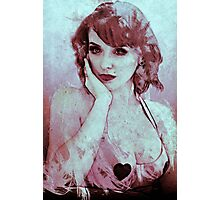 Drawing Debra Photographic Print