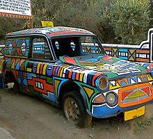 Ndebeli taxi by mamba