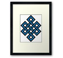 Endless knot Framed Print