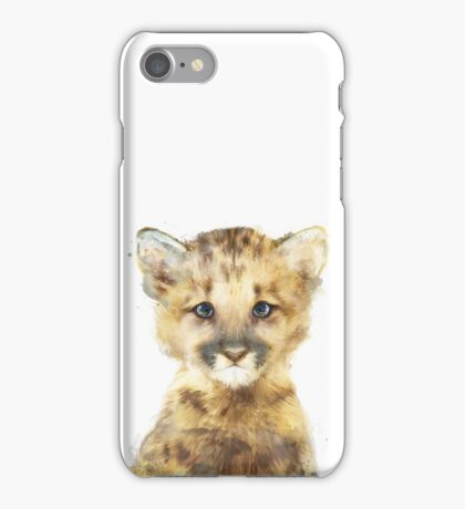 Little Mountain Lion iPhone Case/Skin