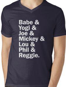 New York Yankee Legends - LIMITED Mens V-Neck T-Shirt