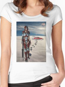 A Long Walk home Women's Fitted Scoop T-Shirt