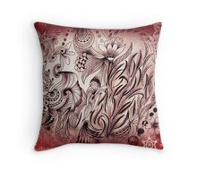 Untangling a day at a time Throw Pillow