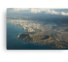 Above Hawaii Canvas Print