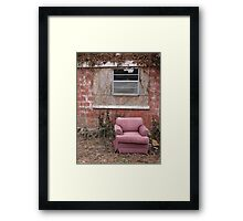 Lonely from the Past Framed Print