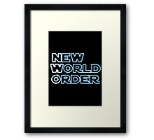 NWO - New World Order Framed Print