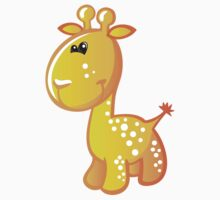 Baby giraffe illustration Kids Clothes