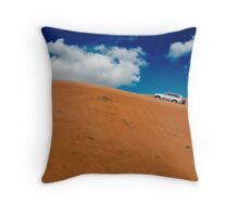 Dune Bashing, Fujairah Throw Pillow