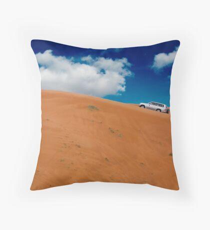 Dune Bashing, Fujairah Throw Pillow