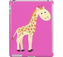 Watercolor baby giraffe iPad Case/Skin