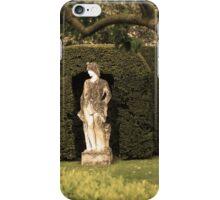 Sepia statue iPhone Case/Skin