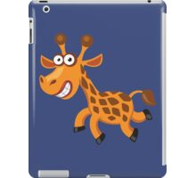 Frightened funny giraffe iPad Case/Skin