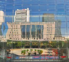 Reflections in Singapore by Adri  Padmos
