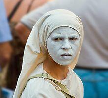 White mask by martinilogic